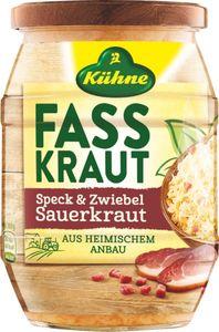 Kühne Fasskraut Sauerkraut Speck&Zwiebeln, 385 g