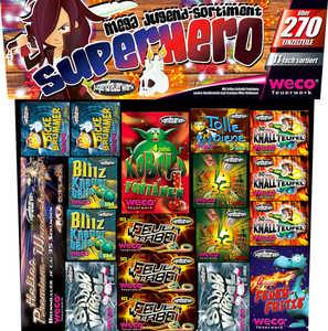 WECO  Jugendfeuerwerks-Sortiment »Superhero«