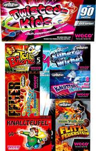 WECO  Jugendfeuerwerk-Sortiment »Twisted Kids«
