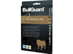 BullGuard Premium Protection 1 Jahreslizenz für 10 Geräte