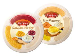 Gemüse Trio-Dip/ Trio-Hummus