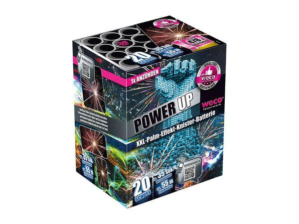 """WECO XXL-Palm-Effekt-Knister-Batterie """"Power Up"""""""