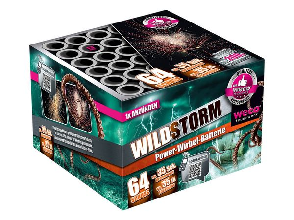 """WECO Power-Wirbel-Batterie """"Wild Storm"""""""