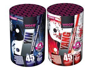"WECO Multi-Color-Fontänen-Batterie ""Yin"" oder ""Yang"""
