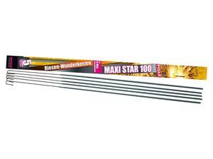 "WECO 5 Riesen-Wunderkerzen ""Maxi-Star 100"""