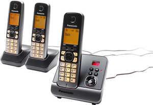 PANASONIC  Trio-Telefon »KX-TG6723GB«
