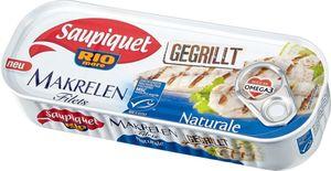 Gegrillte Makrelen-Filets Naturale ohne Öl 120g