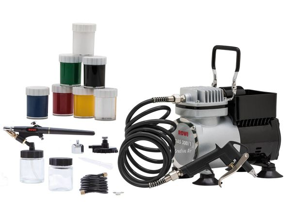 ROWI Airbrush-Kompressoren-Set Creative Air