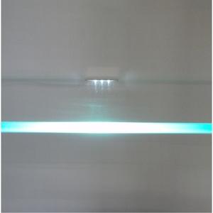 Glaskantenbeleuchtung LED-Edelstahl-Clip 12lm 2er-Set