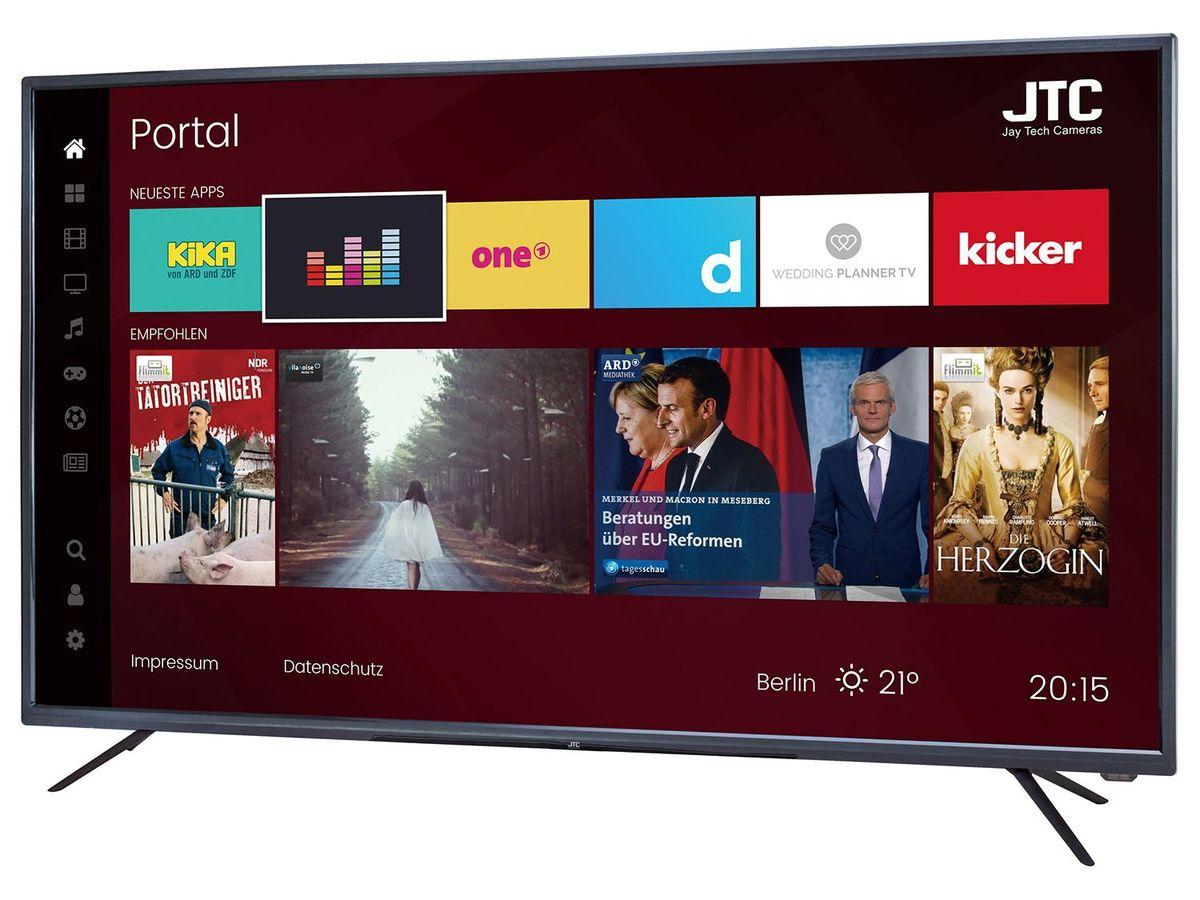 Bild 2 von JTC GALAXIS 4.3 4K UHD LED-Fernseher 43 Zoll Smart TV