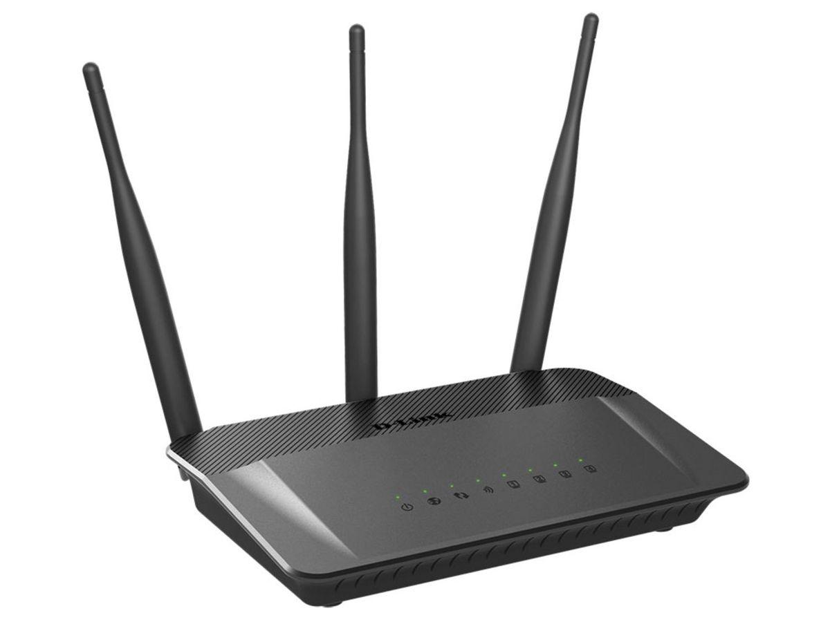 Bild 2 von D-Link DIR-809/E AC750 Dualband Router