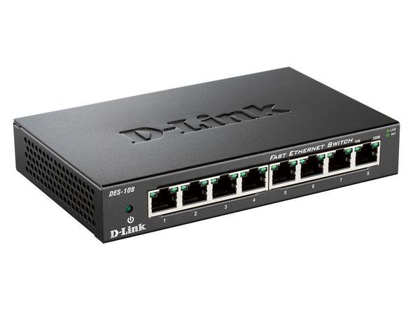 D-Link DES-108/E Fast Ethernet Switch