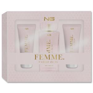 NG »Femme L´Odeur du NG« Eau de Parfum Duftset 3tlg.