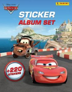 PANINI Sticker-Album-Set Cars, inkl. 220 Sticker