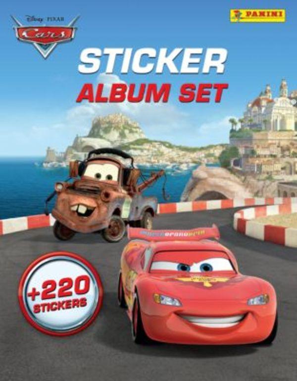 PANINI Sticker-Album-Set Cars, inkl. 220 Sticker
