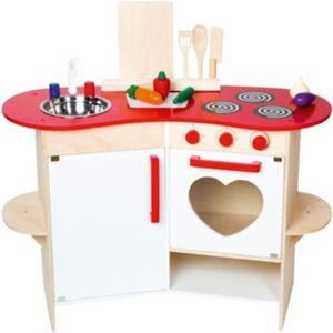 Spielküche mit Herz