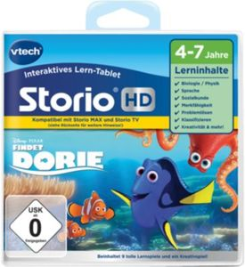 Storio Max und TV, Lernspiel ´´Findet Dorie´´ HD