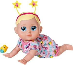 BABY born® Funny Faces Krabbelbaby Funktionspuppe