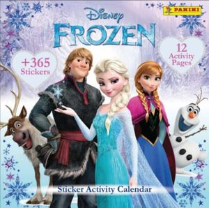 PANINI Sticker-Activity-Geburtstatgskalender/Dauerkalender Die Eiskönigin