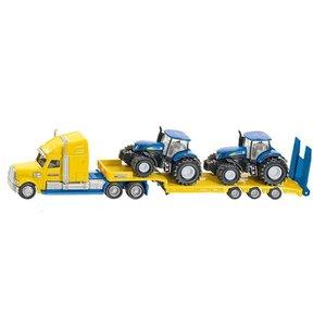 Siku LKW mit New Holland Traktoren