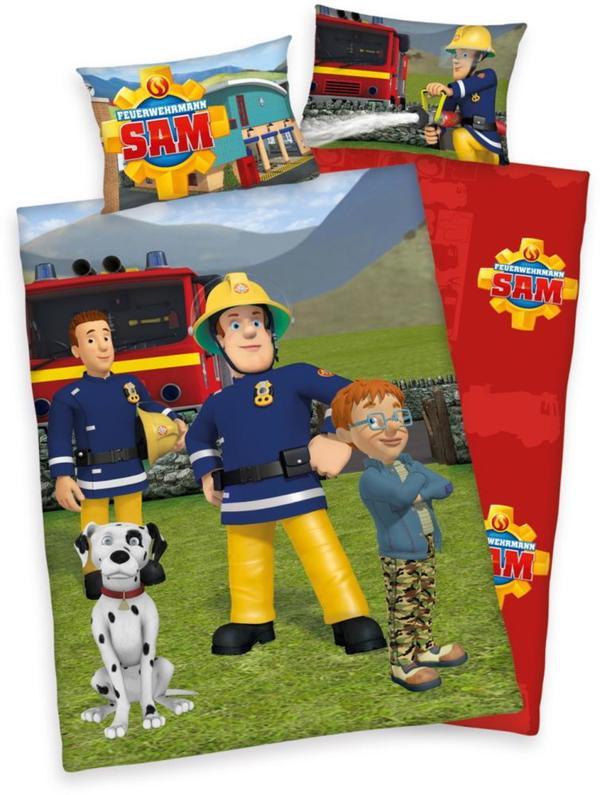Herding Kinderbettwäsche Feuerwehrmann Sam