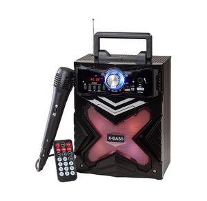 Bluetooth-Sound-Box inklusive Mikrofon, ca. 17x16x27cm
