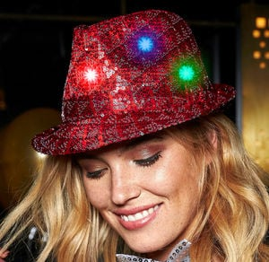 Pailletten-Hut in verschiedenen Farben