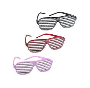 Strass-Brille in verschiedenen Farben