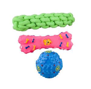 Hundespielzeug in verschiedenen Ausführungen
