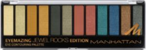 MANHATTAN Cosmetics Lidschattenpalette Eyemazing Eye Contouring Palette Jewel Rocks Edition 10