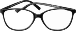 VISIOMAX Lesebrille Cateye schwarz dpt. +2,5