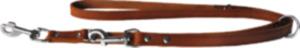 Das Lederband Hundeführleine Weinheim, Kastanie, Breite 12 mm / Länge 200 cm
