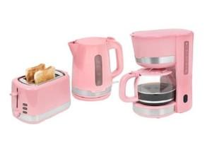 Exquisit Frühstücks-Set 7101 ppi 3 tlg. ´´KA7101ppi + TA7101ppi + WK7101ppi´´