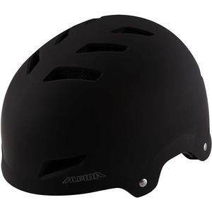 ALPINA Kinder Radhelm Alpina Park Junior, schwarz