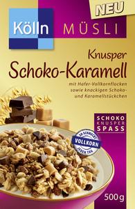 Kölln Müsli Knusper Schoko-Karamell 500 g