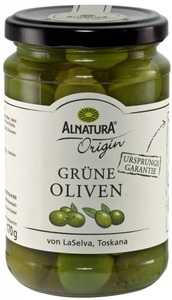 Alnatura Origin Bio Grüne Oliven 310 g
