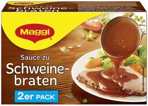 Maggi Sauce zu Schweinebraten ergibt 2x 250 ml
