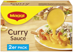 Maggi Curry-Sauce ergibt 2x 250 ml
