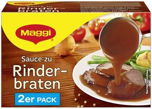 Maggi Sauce zu Rinderbraten ergibt 2x 250 ml