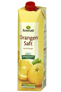 Alnatura Bio Orangensaft groß 1 ltr