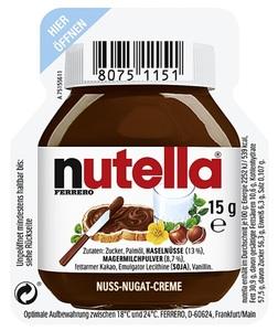 Nutella Nuss-Nougat Creme 6x 15 g