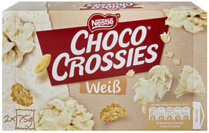 Nestle Choco Crossies White 2x 75 g