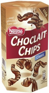 Nestle Choclait Chips Classic 115 g