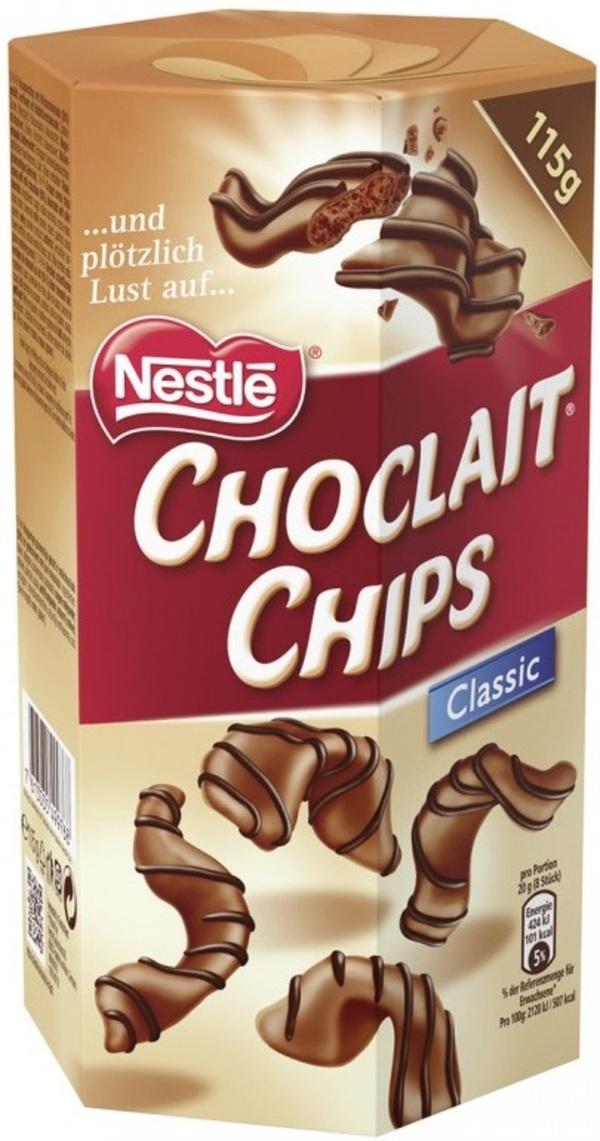 Nestle Choclait Chips Classic 115 g