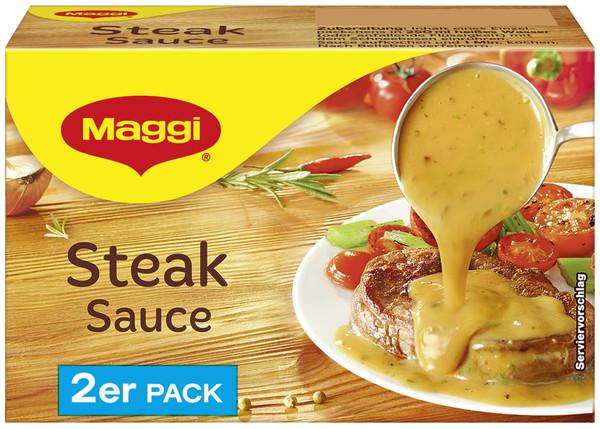 Maggi Steak-Sauce ergibt 2x 250 ml