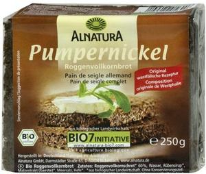 Alnatura Bio Pumpernickel 250 g