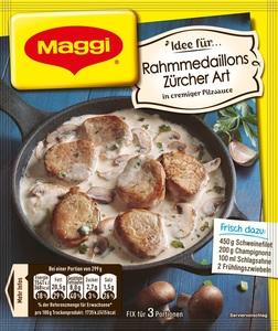 Maggi Idee für Rahmmedaillons Zürcher Art 39 g