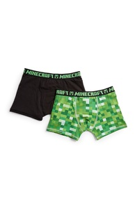 "2 ""Minecraft"" Boxershorts (Teeny Boys)"
