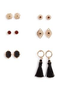 Verschiedene Ohrringe, 3er-Pack