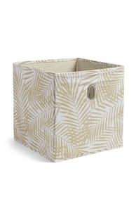 Aufbewahrungsbox mit Palmenprint